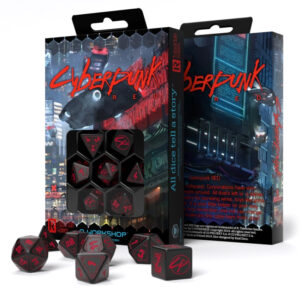 Cyberpunk red dice set