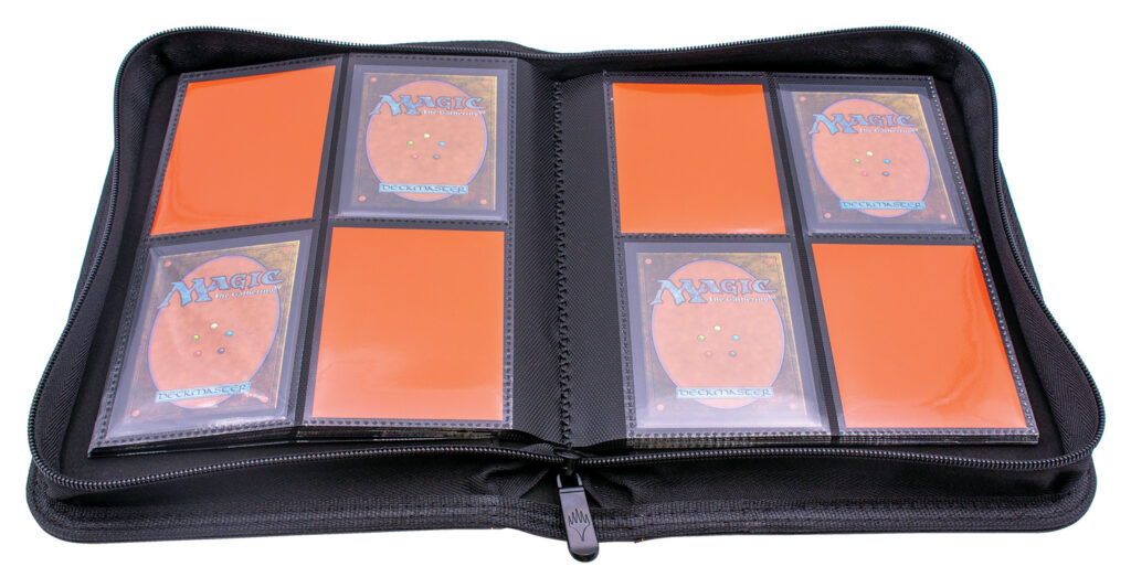 4-Pocket Zippered PRO Binder, open