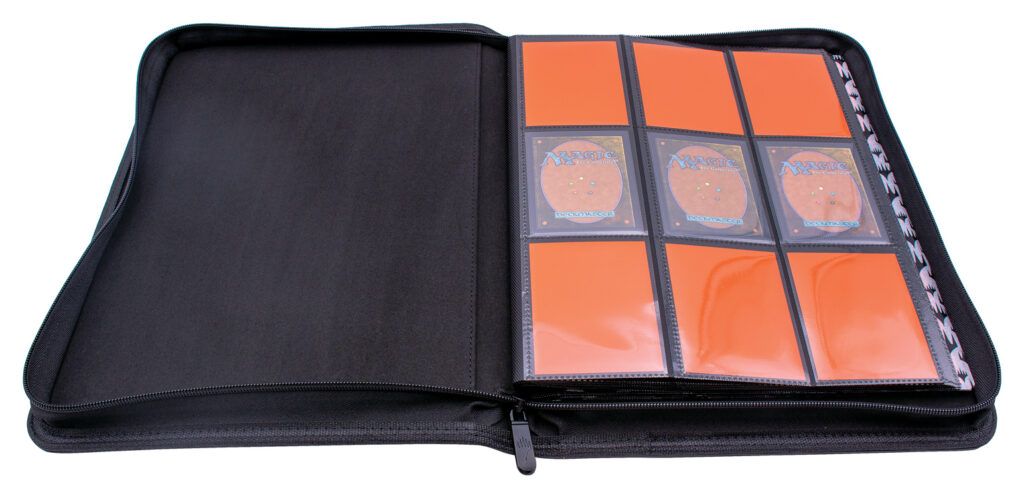 9-Pocket PRO Binder, open