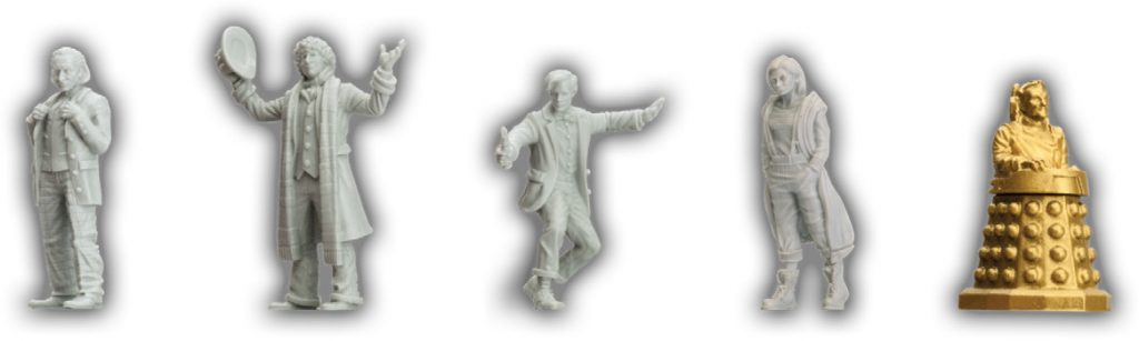 13th Doctor core minis