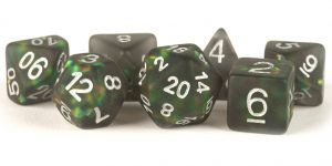 Icy Opal Black dice