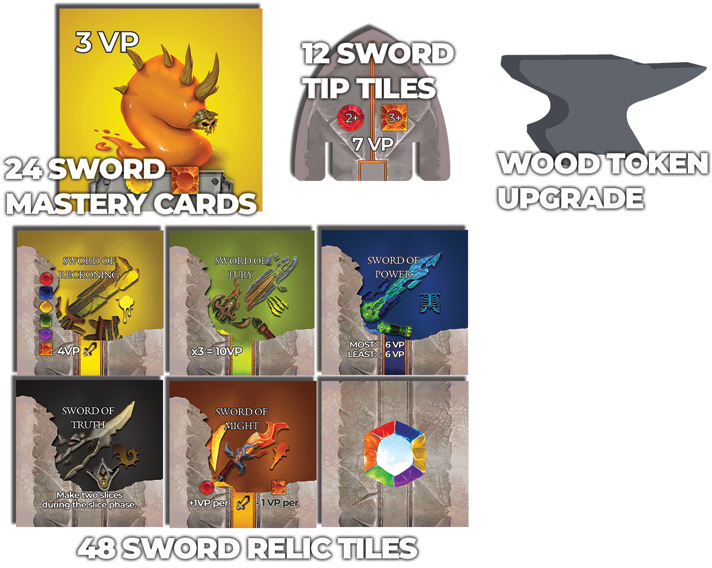 Swordcrafters Expanded components
