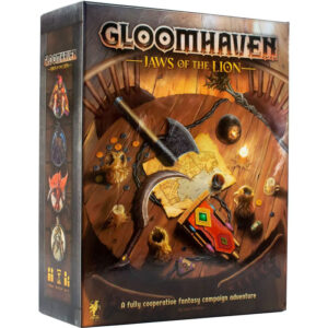 Gloomhaven: Jaws of the Lion box