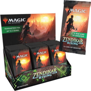 MTG Zendikar Rising Set Booster