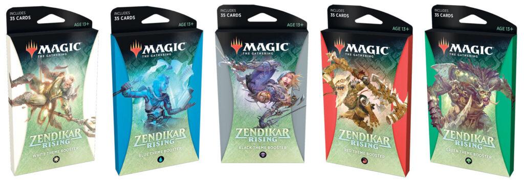 MTG Zendikar Rising Theme Boosters