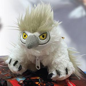 snowy owlbear dice pouch