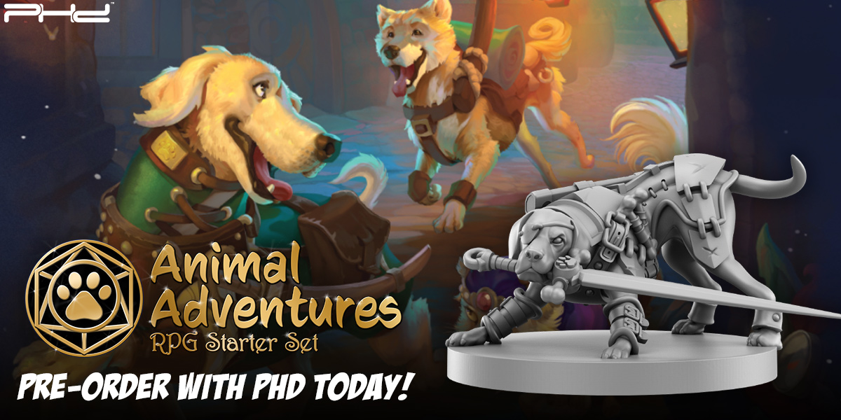 Animal Adventures RPG Starter Set — Steamforged Games