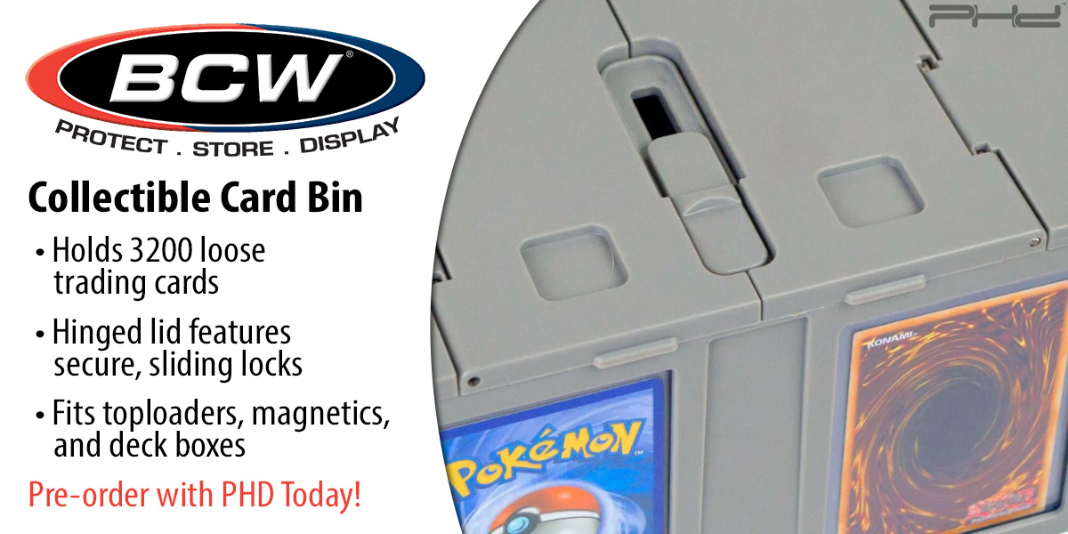 3,200-Count Card Bins — BCW Supplies