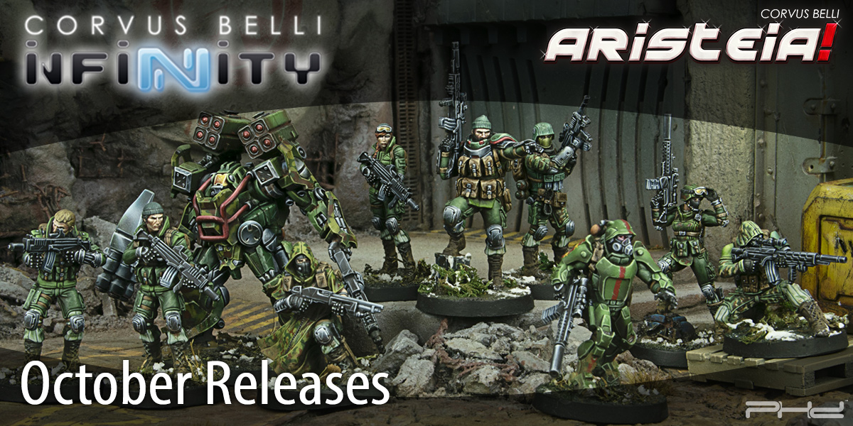 Corvus Belli October 2020 Releases