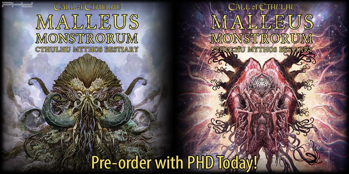 Malleus Monstrorum Cthulhu Mythos Bestiary — Chaosium