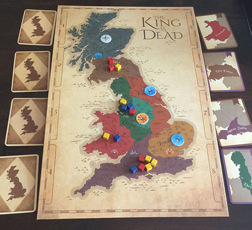 The King Is Dead 2E setup