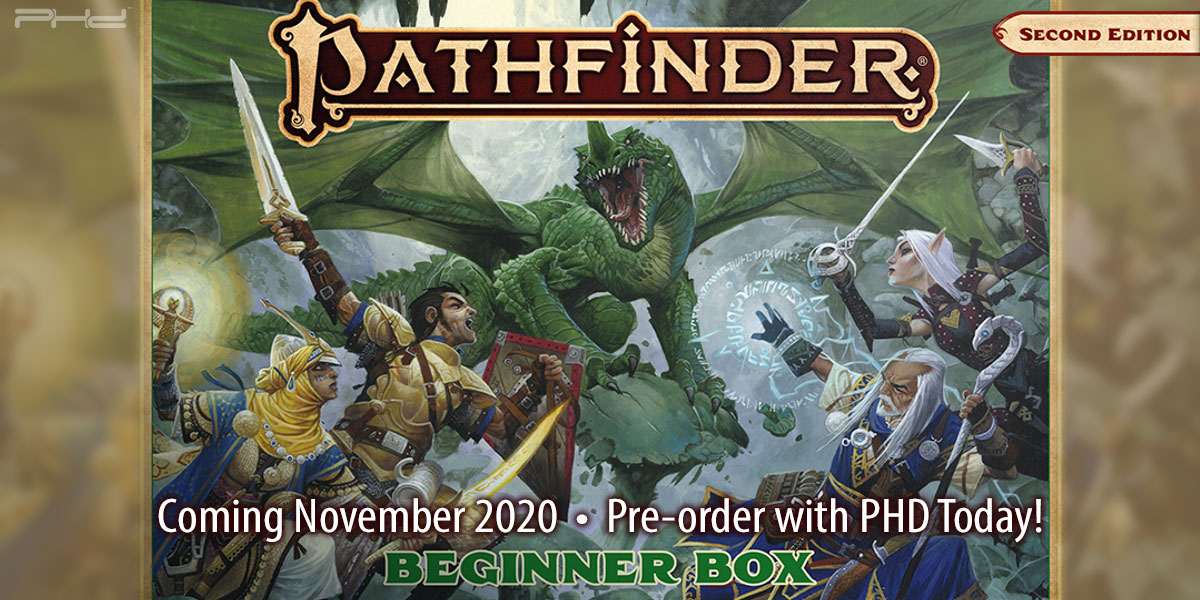 Pathfinder Second Edition Beginner Box — Paizo