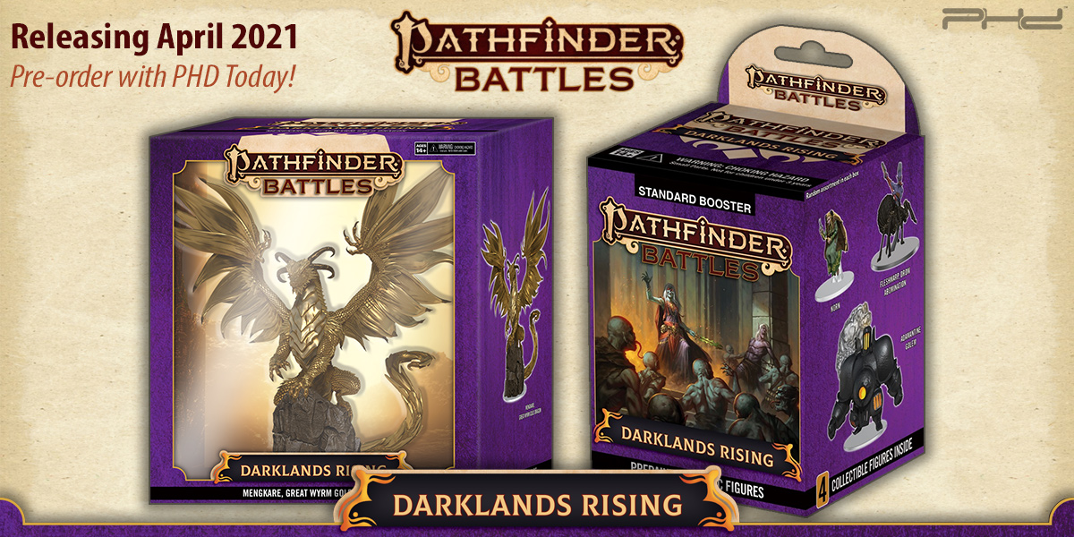 Pathfinder Battles: Darklands Rising — WizKids