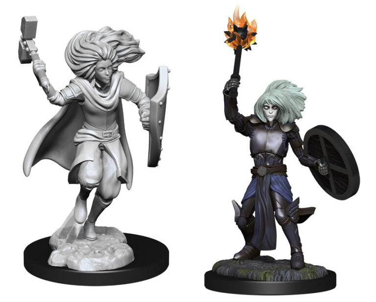 Female & Male Changeling Cleric