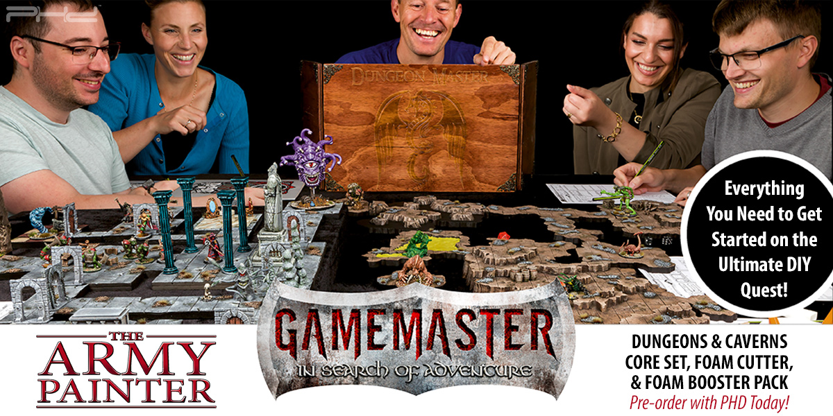 Gamemaster: Dungeons & Caverns Core Set — The Army Painter