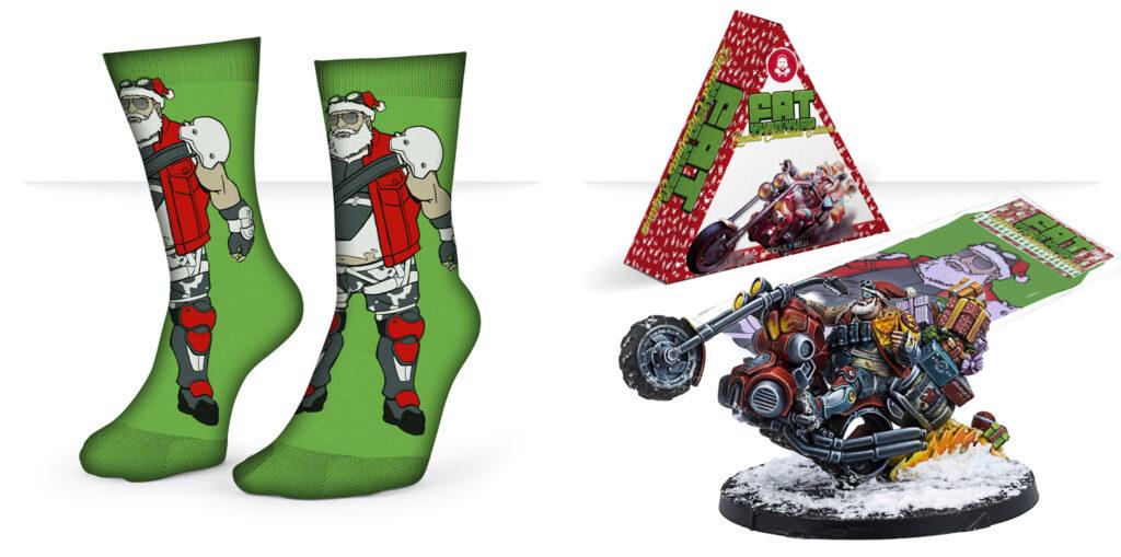 Christmas Fat Yuan Yuan pack contents