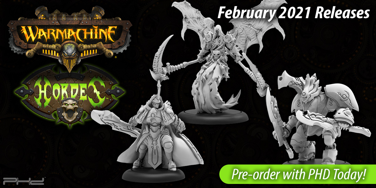 Privateer Press February 2021 Releases