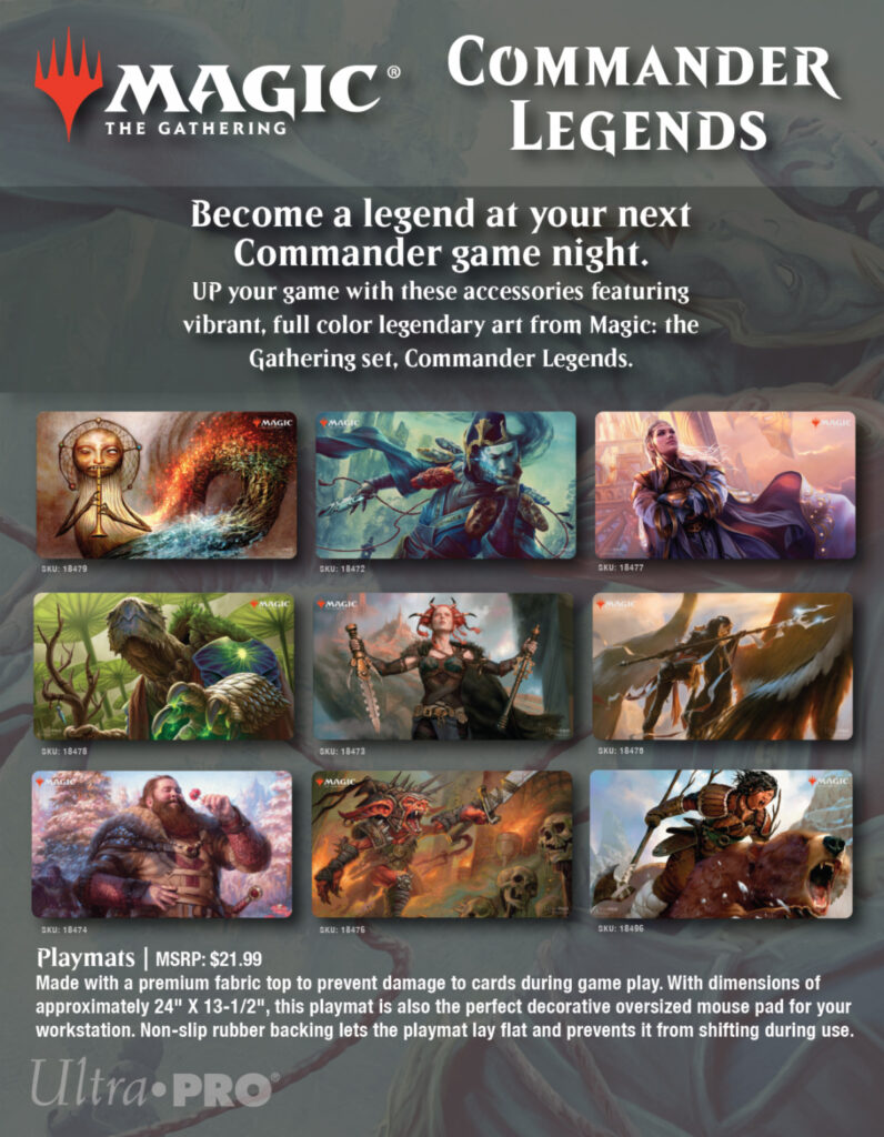 UPR MTG Commander Legends play mats