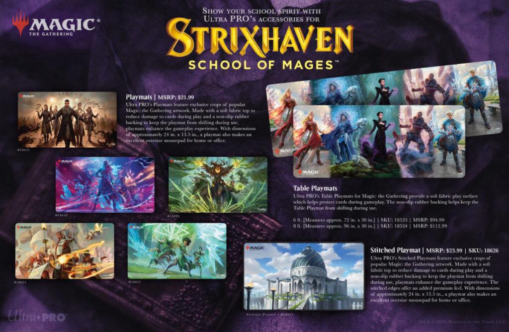 Strixhaven play mats