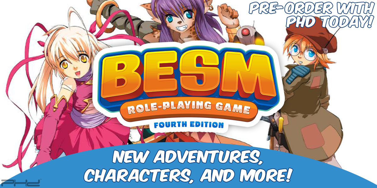 BESM Role-Playing Game Fourth Edition Supplements