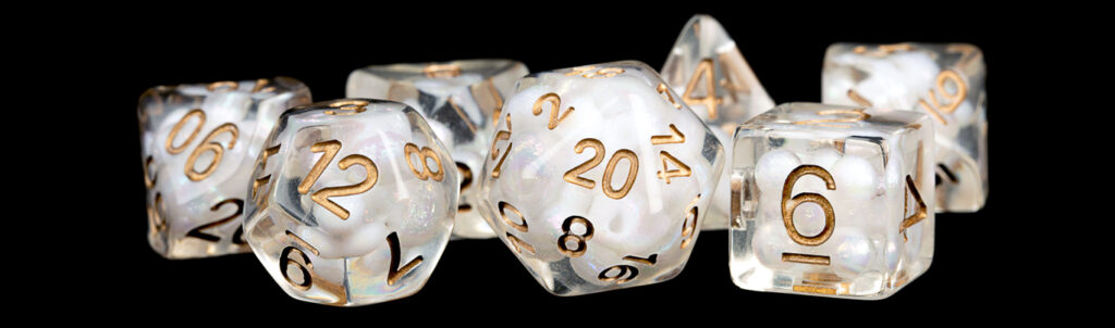 Pearl with Copper Numbers