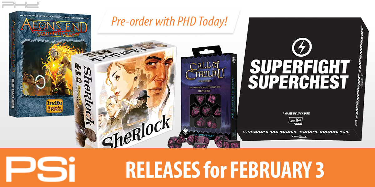 PSI February 3 Releases