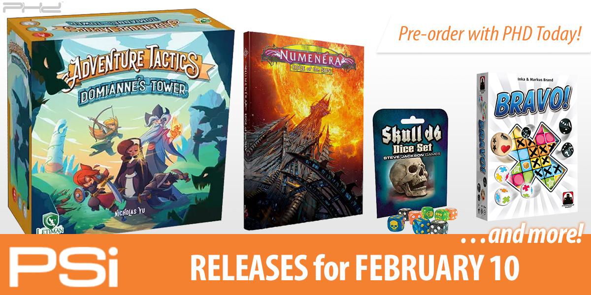 PSI February 10 Releases