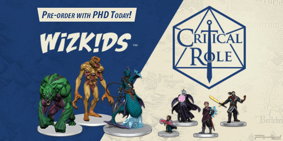 Critical Role: Monsters & Factions of Wildemount Miniatures — WizKids