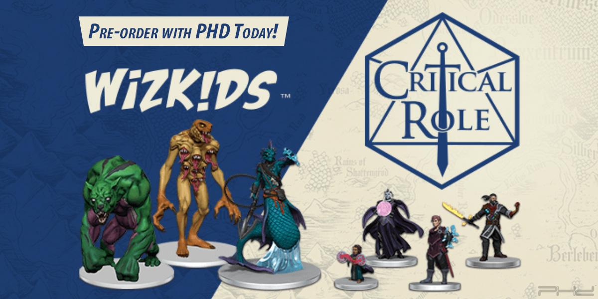 Critical Role: Monsters & Factions of Wildemount Miniatures — WizKids