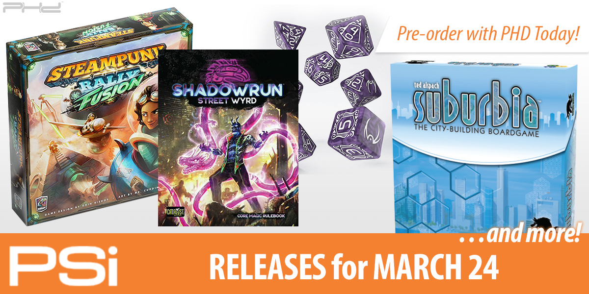PSI March 24 Releases