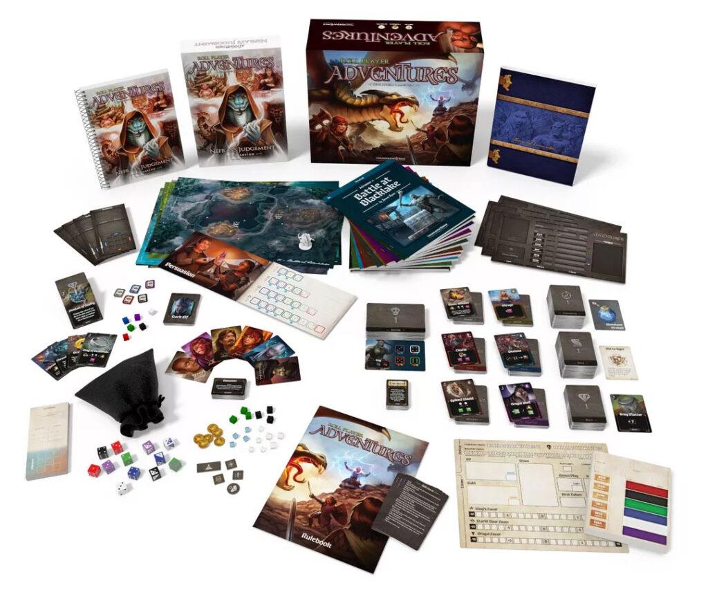 Roll Player Adventures & Nefras's Judgement components