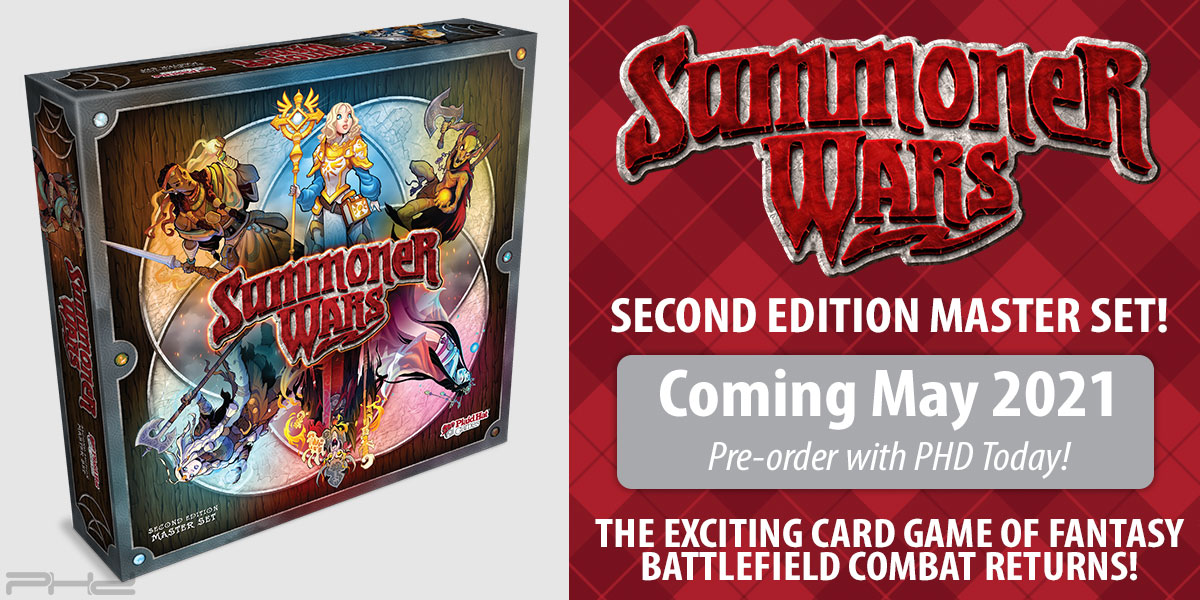 Summoner Wars Second Edition Master Set — Plaid Hat Games