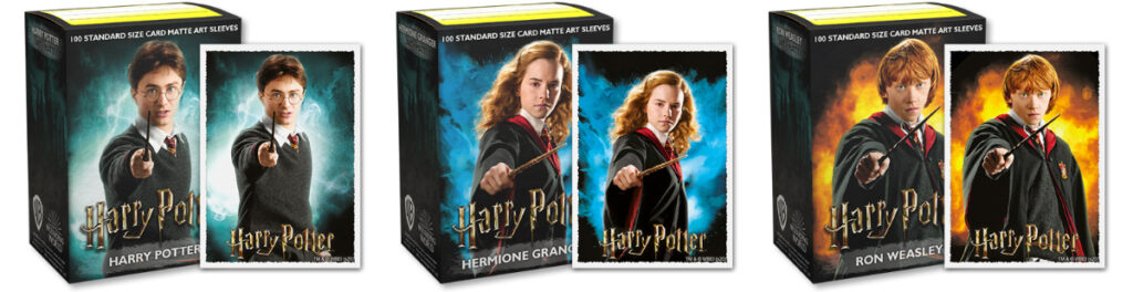 Harry Potter character sleeves