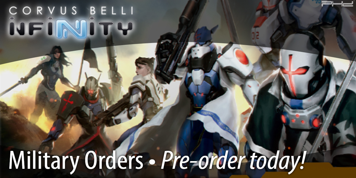 Infinity: Military Orders — Corvus Belli