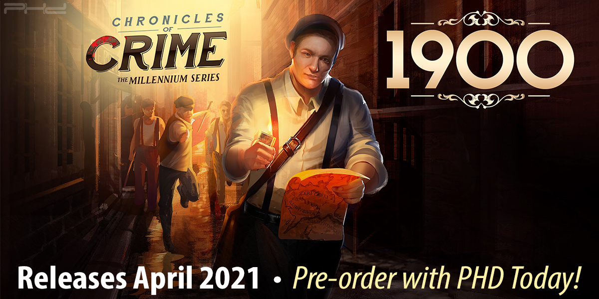 Chronicles of Crime: 1900 — Lucky Duck Games