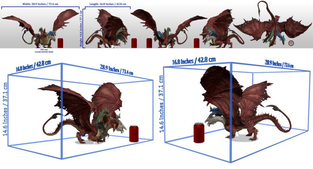 Tiamat scale dimensions