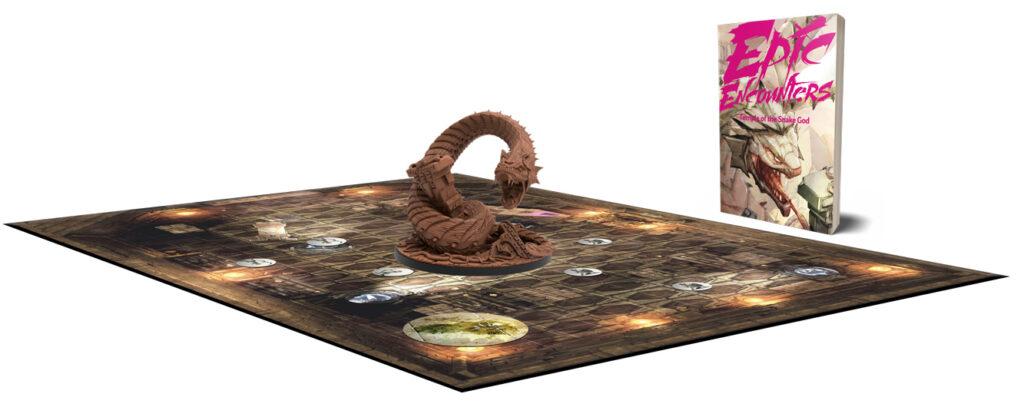 Temple of the Snake God setup