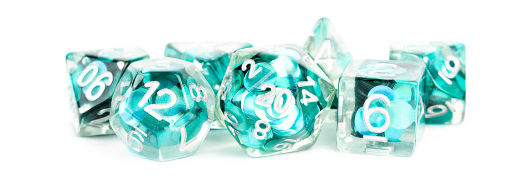 Mermaid Scale Dice