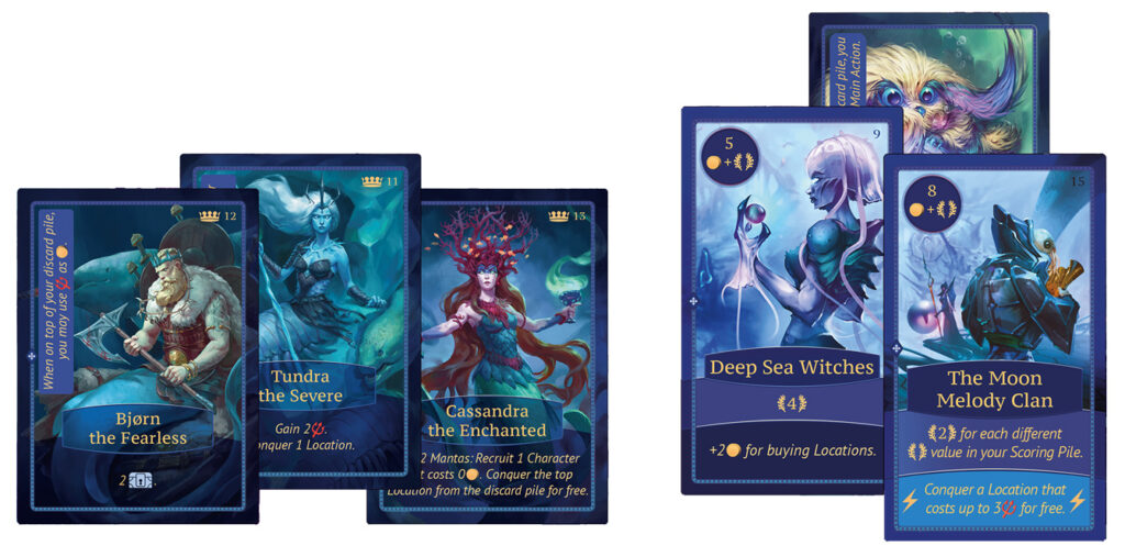 Cold Waters cards