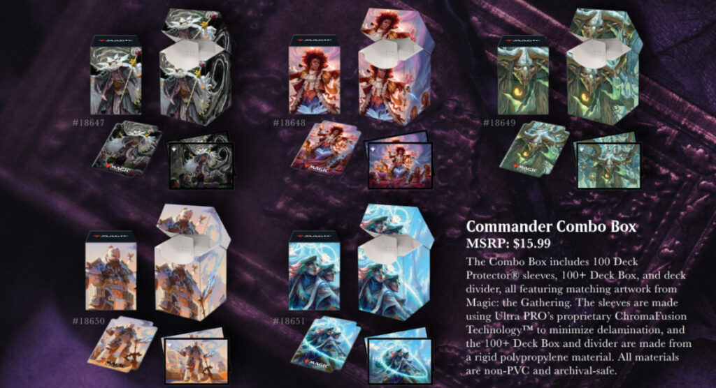 Strixhaven Commander combo boxes