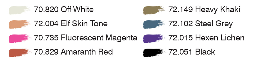 Combat Zone colors