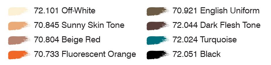 Solo colors
