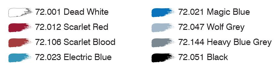 Trauma Team colors