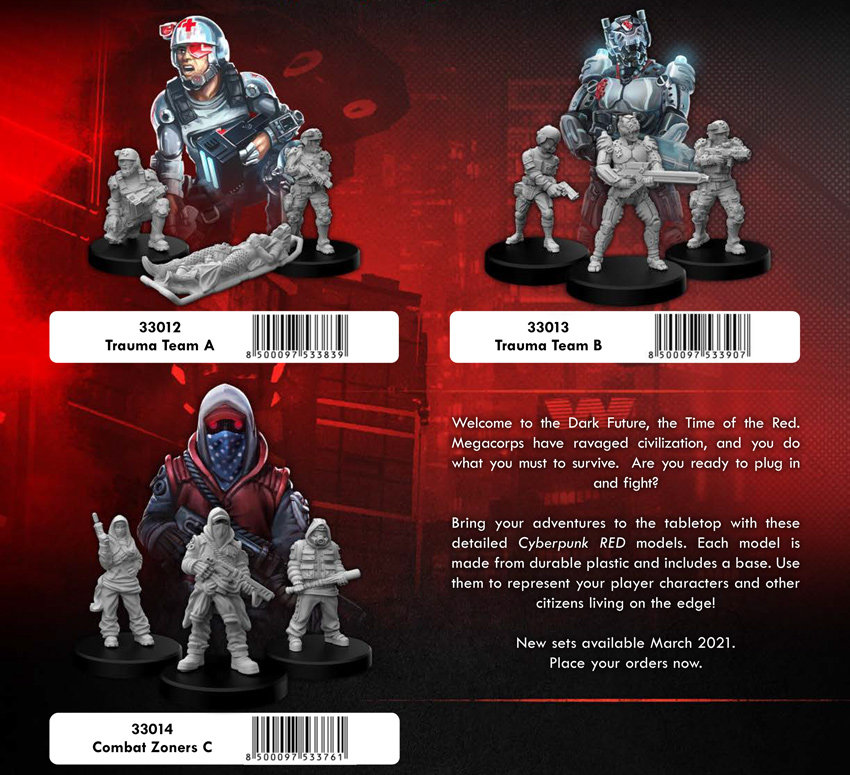 Trauma Team & Combat Zoners
