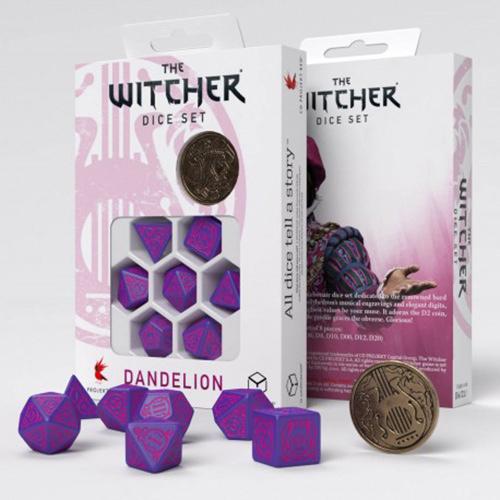 Dandelion Conqueros of Hearts dice