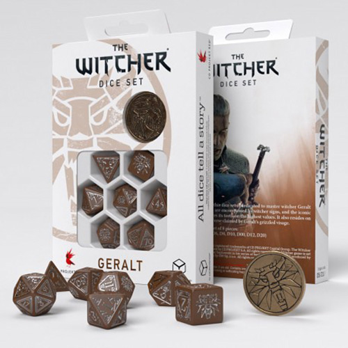 Geralt Roach's Companion dice