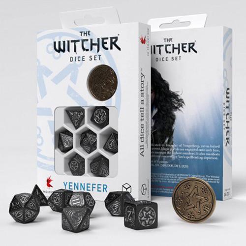 Yennefer The Obsidian Star dice