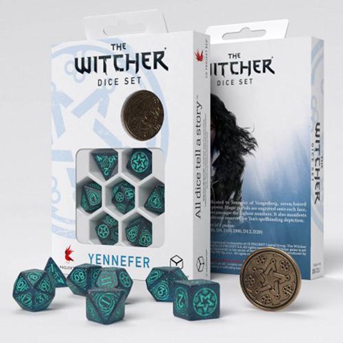 Yennefer Sorceress Supreme dice