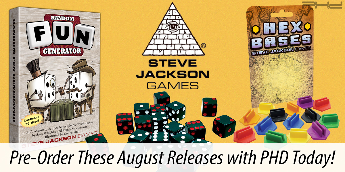Hex Bases & Random Fun Generator — Steve Jackson Games