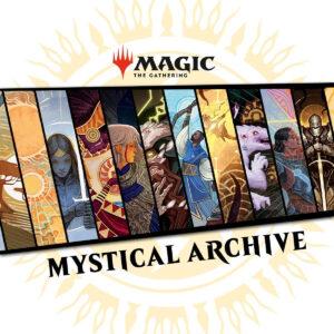 Mystical Archive white